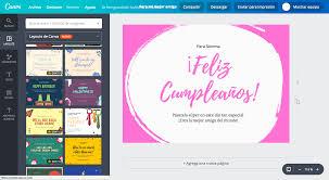 Crea Tarjetas De Cumpleaños Para Una Amiga Gratis Canva