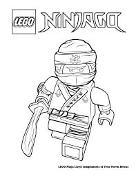Coloring Page Ninja Lloyd Print Lego Coloring Pages Lego
