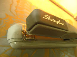 retro office decor. Vintage Swingline Industrial 1950\u0027s Stapler/ Grey/ Mid-Century Modern Design/ Retro Office Decor R