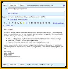 What Write Email When Sending Resume Sample Send And Cover Letter