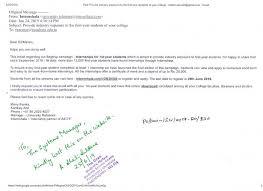 Internships For 1st Year Students Pondicherry University