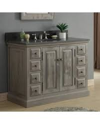 bathroom vanities 48 inch. Infurniture Rustic Style 48-inch Single Sink Bathroom Vanity (Dark  Limestone Top, No Bathroom Vanities 48 Inch 4