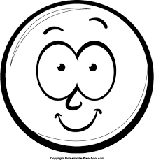 Smiley Face Clipart Black And White Smiley Face Black And White