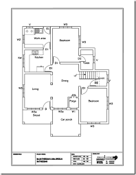 kerala house design with floor plans home pattern