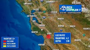 Earthquake activity in the region has been extremely active over the last few days. Magnitude 4 2 Earthquake Hits Just South Of Santa Cruz Felt Across Bay Area Abc7 San Francisco