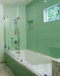 ... Amp Q Bathroom Wall Panels Tile Effect Panels Also Chic Stainless  Bathroom Large Size Tiles Kitchen Bathroom Inspiration Modern Green Glass Subway  Tile ...