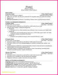 Awesome Resume Template Investment Banking Best Templates