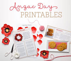 poppy template free anzac day printables tinyme blog