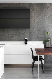 Einfaches Marmor Küche Mit Beton Wand Mit Effektvollem