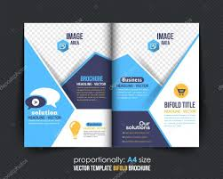 Diseños Tripticos Publisher Diseño De Brochure De Bi Fold Folleto
