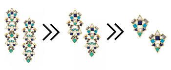 stella dot totem tassel earrings 4 in 1