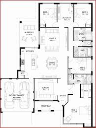 single story 1 bedroom house plans unique single story home plans 4 bedrooms