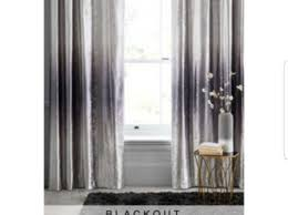grey ombre bedding matching curtains