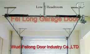 low clearance garage doorLow Headroom Garage Door  European Union Ce Certificate