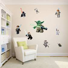Lego Bedroom Decor Lego Star Wars 11 Character Decal Boys Room Wall Stickers
