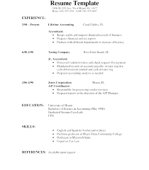 Job Resume Templates Word Resume Template On Microsoft Word 2007 Simple Resume Format