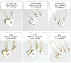 gold or sterling silver mother daughter
