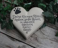 Gedenkstein Grabstein Tiergedenksteinhund Katze Name