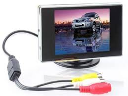 BW <b>3.5 inch</b> TFT <b>LCD</b> Car <b>Monitor</b> Digital Car Rearview: Amazon.co ...