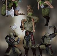Earth Models Genesis 8 Poses For And Middle Orc 3d Software aqOSaw