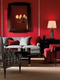 Osez le salon rouge pour une ambiance passione