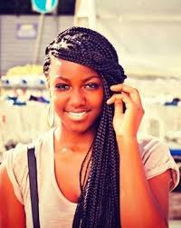 Box Braids Hair Style 5 charming braided hairstyles with small box for black women 5521 by wearticles.com