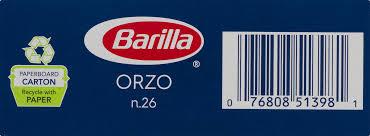 barilla spa barilla pasta orzo lb com com au barilla  barilla spa