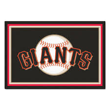 fanmats san francisco giants 5 ft x 8 ft area rug