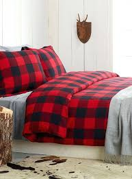 red buffalo check bedding amazing plaid flannel sheets duvet cover and sham white tartan flannel with red buffalo check bedding