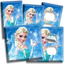 Frozen Light Switch Cover Disney Frozen Elsa Light Switch Outlet Plates Living Room