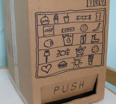 How To Make A Vending Machine Out Of Cardboard Box Cool 48 Diaper Box DIY Projects Pinterest Diapers Easy Diy Projects