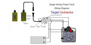 how to wire hydraulic power pack power unit diagram design prevnext `