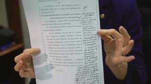 democrats fume over absurd gop tax bill full of last minute  democrats fume over absurd gop tax bill full of last minute handwritten edits the washington post