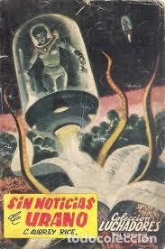 sin noticias de urano. c. aubrey rice. valencia - Comprar Libros de ciencia  ficción y fantasía en todocoleccion - 150578266