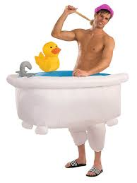 inflatable bath costume for s