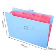 file folders. Delighful Folders Picture Of Skydue Letter A4 Paper Expanding File Folder Pockets  Accordion Document Organizer Blue To Folders