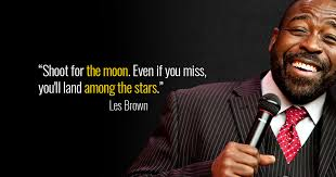 Chris Brown Quotes 53 Inspiration 24 Les Brown Quotes To Achieve More Goalcast