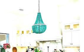 turquoise beaded chandelier regina andrew
