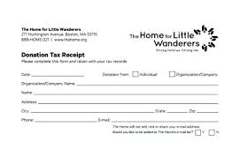 5 In Kind Donation Form Template Letter For Non Profit New Goods