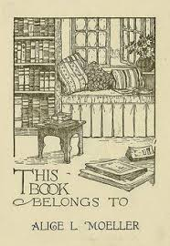 ex libris alice l moeller pratt libraries ex libris collection
