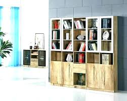 cherry bookcase with glass doors cherry bookcase with glass doors bookcases with glass door modern bookcase
