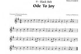 Black Belt Ode To Joy Sd74music