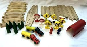 ikea wooden train tracks wooden train set wooden train set lot tracks trees compatible wood curved ikea wooden