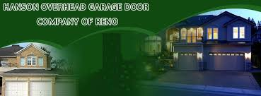 hanson garage doorHanson Overhead Garage Door Service of Reno Sparks Carson City