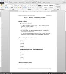 Technology Plan Template Technology Plan Template 1