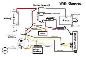 help 1971 thunderbird alternator wire diagram ford forums here s a basic diagram for a 71 ford