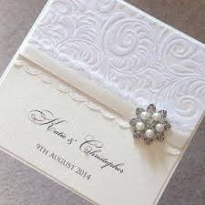 93 best luxury wedding invitations images on pinterest wedding Wedding Invitations Halifax Uk the floral pearl wedding invitations from chosen touches of halifax uses a gorgeous textured paper and double satin ribbon embellished with a sparkling Elegant Wedding Invitations