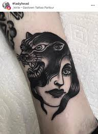 Pin By Carrie S On Panther Tiger And Lion Girls Tattoos Skull