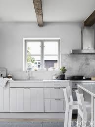 kitchen furniture white. 40 Best White Kitchens Design Ideas - Pictures Of Kitchen Decor ELLEDecor.com Furniture