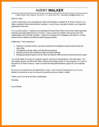 Sample Cover Letter Administrative Assistant Uk Perfect Print